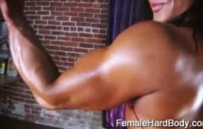 Tonia Moore is one sexy buff babe